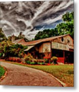Road To Shiloh Farm's Barn Metal Print