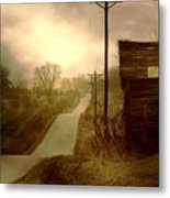 Road To Smalley Lake Metal Print