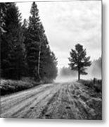 Road To Somewhere  Metal Print