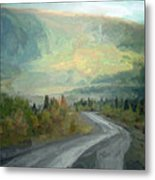 Road To The Sun, Denali Metal Print