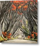 Road To The Throne Metal Print