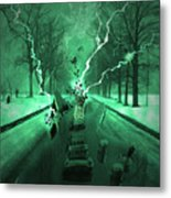 Road Trip Effects  Metal Print