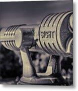 Roadside Telescope Metal Print