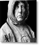 Roald Amundsen, The First Person Metal Print
