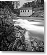 Roanoke River Flow Metal Print