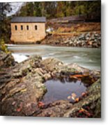 Roanoke River Niagra Rd Dam Metal Print