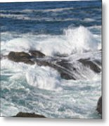 Roaring Water Metal Print