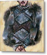 Robb Stark Metal Print by Denise H Cooperman