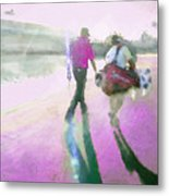 Robert Allenby Playing A Round Of Golf Dedicated To His Mother Metal Print