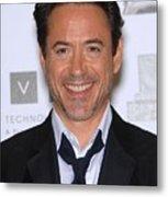 Robert Downey Jr. In Attendance Metal Print by Everett