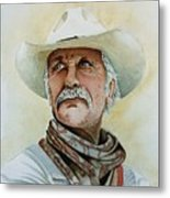 Robert Duvall As Augustus Mccrae In Lonesome Dove Metal Print