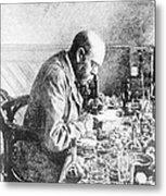 Robert Koch, German Bacteriologist Metal Print