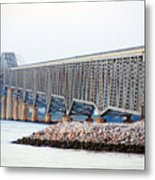 Robert O. Norris Bridge Metal Print