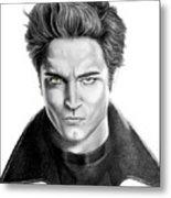 Robert Pattinson - Twilight's Edward Metal Print