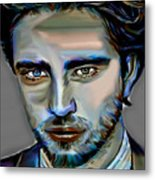 Robert Pattinson Metal Print