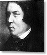 Robert Schumann, German Composer Metal Print