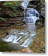 Robert Treman Waterfall Metal Print