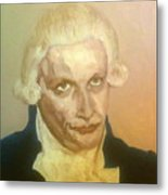 Robespierre Frowns  Metal Print