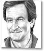 Robin Williams Metal Print