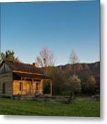 Robinson Cabin At Wilderness Road State Park Metal Print