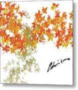 Robinson Camo Leaves Range Metal Print