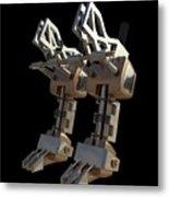 Robotic Limbs Metal Print