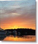 Roche Harbor Sunset Metal Print