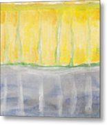 Rochester - Abstract Weather Metal Print
