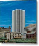 Rochester Across The River Metal Print