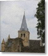 Rochester Cathedral Art Metal Print