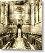 Rochester Cathedral Vintage Metal Print