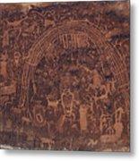 Rochester Rainbow Detail Metal Print