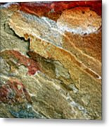 Rock Abstract 3 Metal Print