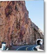 Rock And Road Metal Print