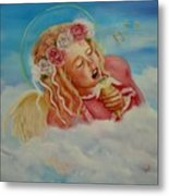 Rock And Roll Angel Metal Print