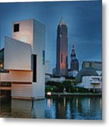 Rock And Roll Hall Of Fame And Museum Metal Print