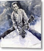 Rock And Roll Music Chuk Berry Metal Print