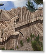 Rock And Roll Park 2 Metal Print