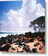 Rock And Sand Metal Print
