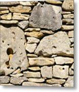 Rock Architecture Four Metal Print