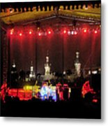 Rock Concert Metal Print