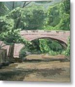 Rock Creek Bridge 5 Metal Print