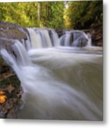 Rock Creek In Happy Valley Oregon Metal Print