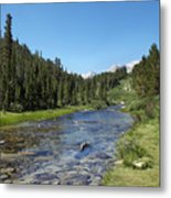 Rock Creek Metal Print by Kenneth Hadlock