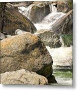 Rock Creek Snow Melt Metal Print