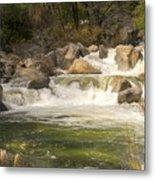 Rock Creek White Water Metal Print