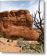Rock Fin -- Arches National Park Metal Print