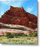 Rock Formation Of La Sal Mountains Metal Print