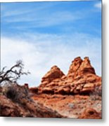 Rock Formations At Kodachrome Basin State Park, Usa Metal Print