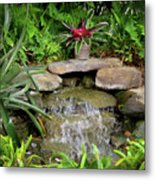 Rock Fountain IIi Metal Print